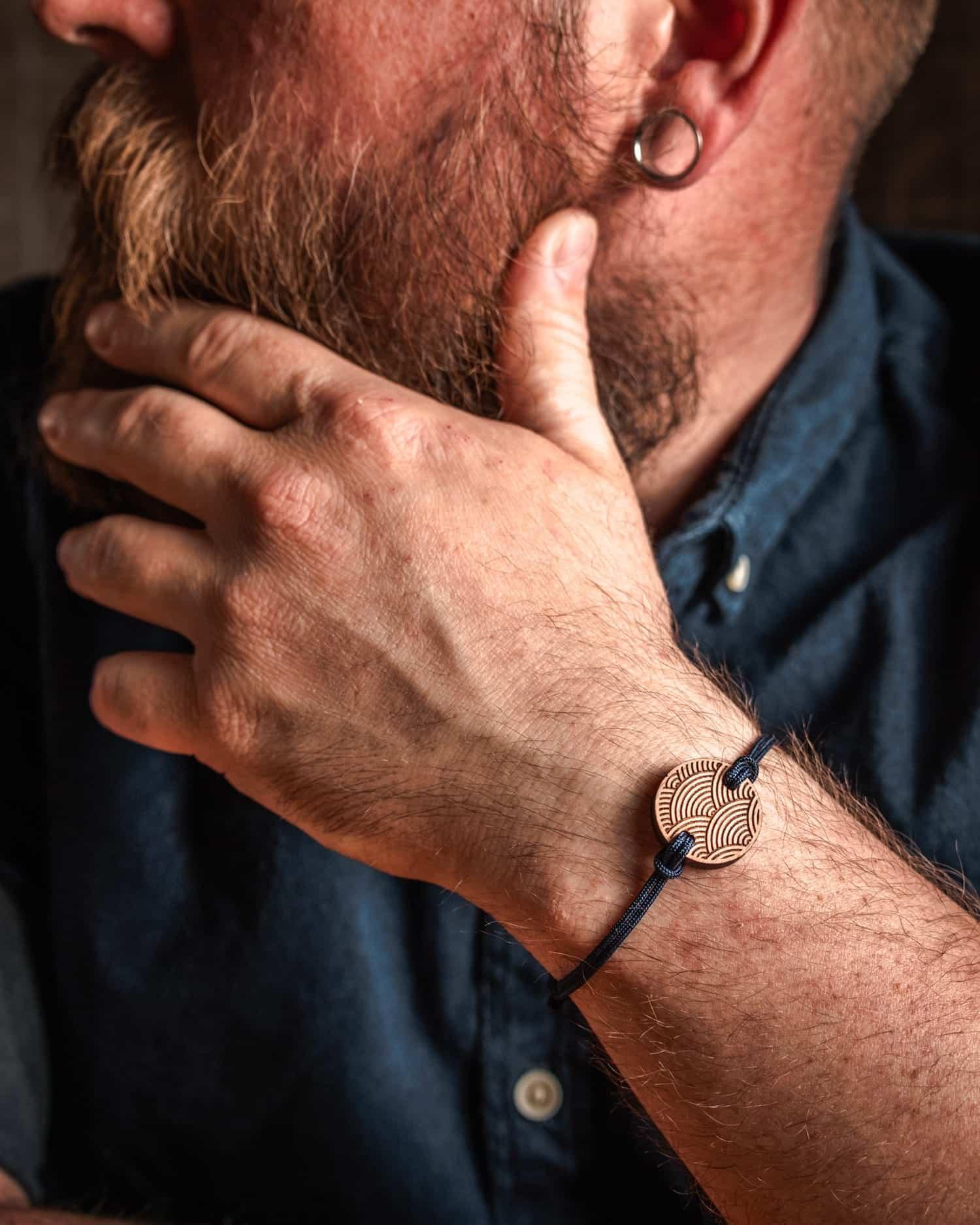 Bracelet en bois Tybi