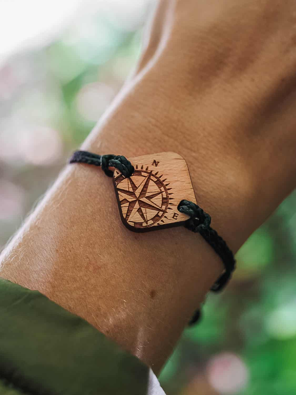 Bracelet en bois Travl