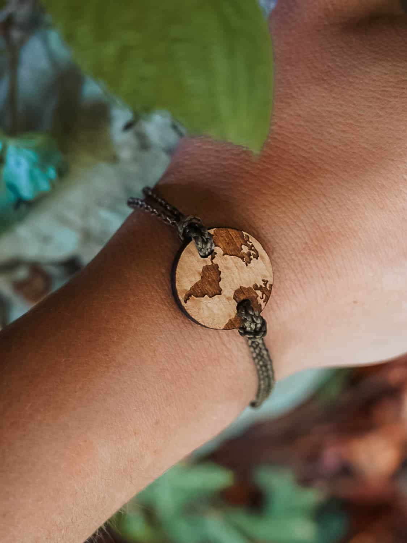 Bracelet en bois Home