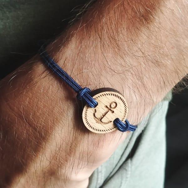 Bracelet en bois suisse recyclé Ancor