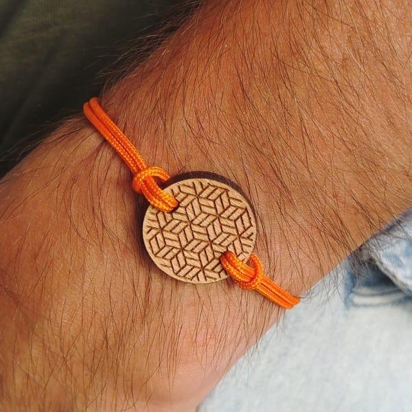 Bracelet en bois Lyzi