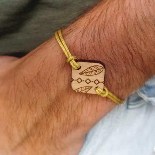 Bracelet en bois Poca