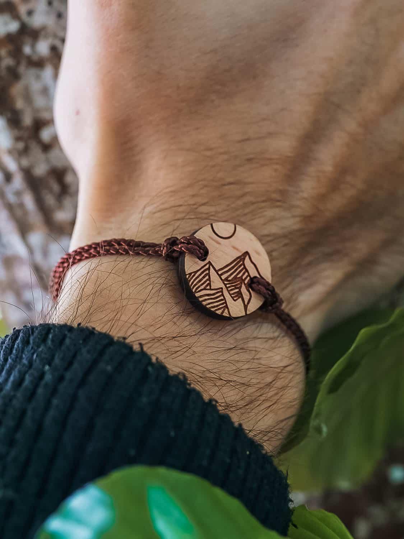 Bracelet en bois Pic