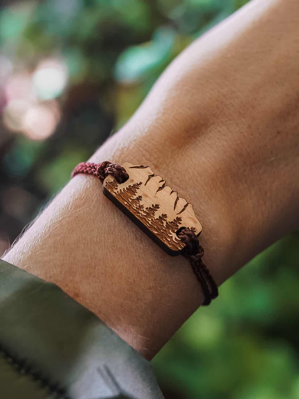 Bracelet en bois Dents-du-Midi