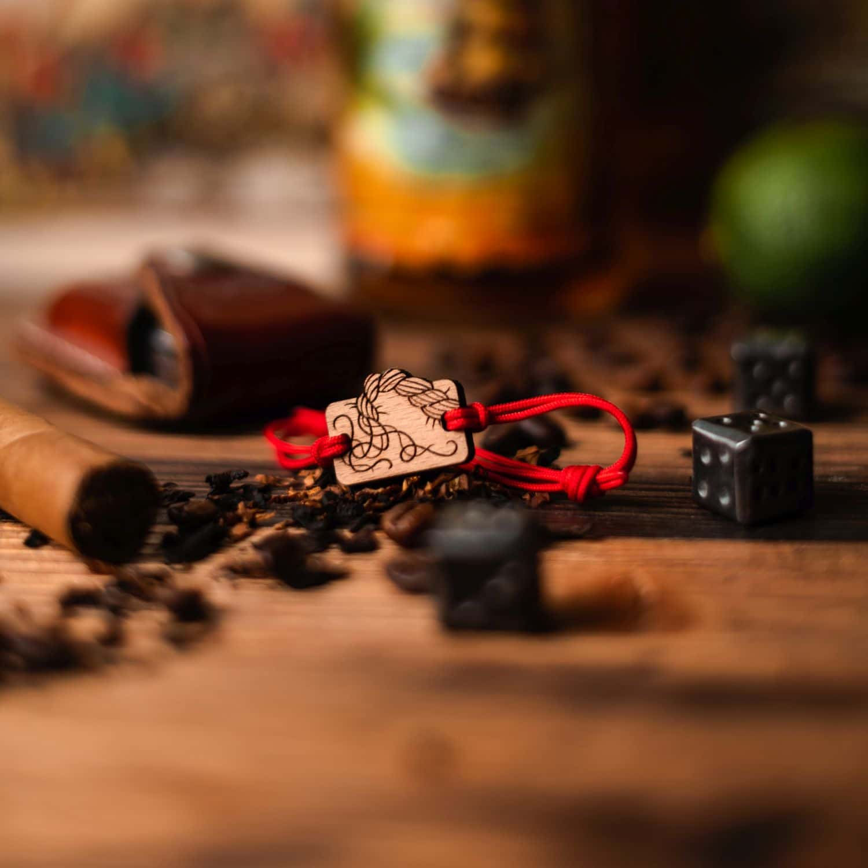Bracelet en bois Ligne de vie