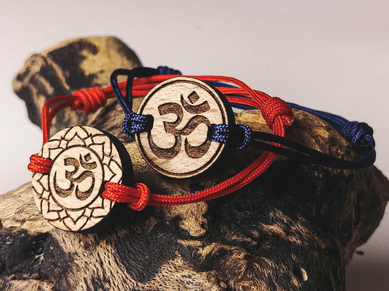 Bracelet en bois personnalisé