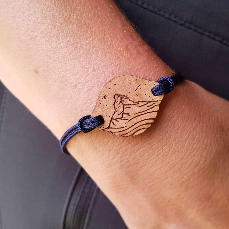 Bracelet en bois Cervin