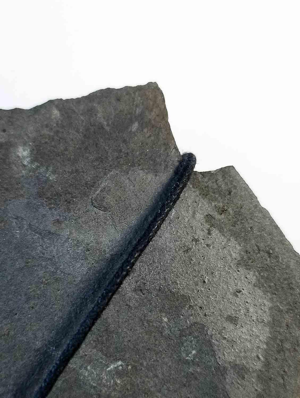 Cordon de collier coton noir