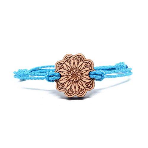 Bracelet en bois mandala amelia