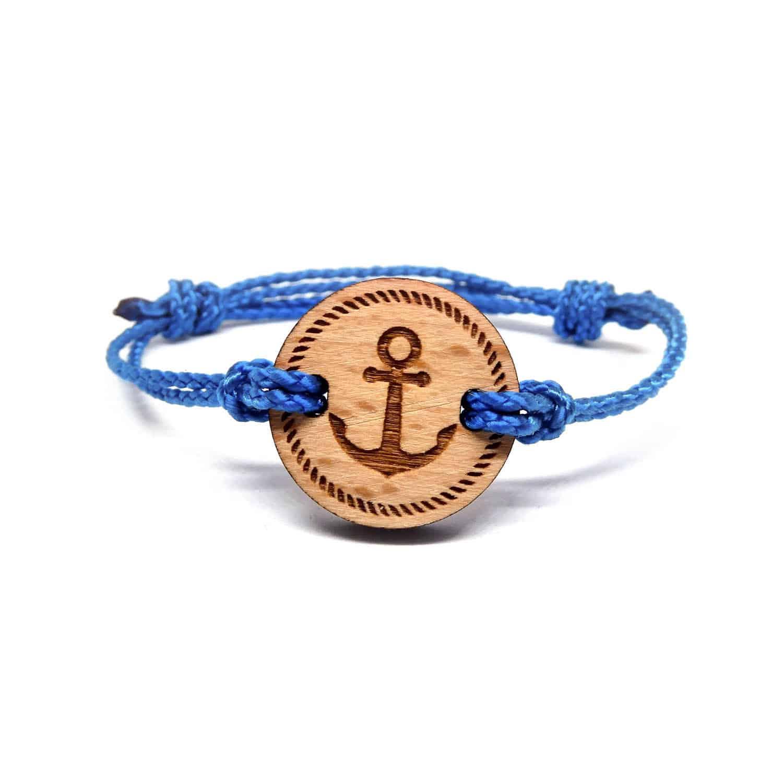 bracelet en bois ancor 1