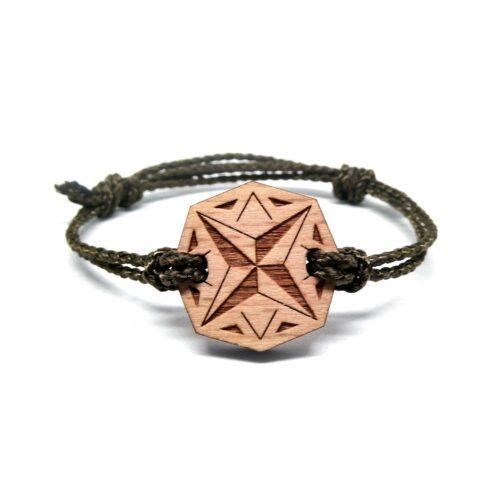 Bracelet en bois nomad