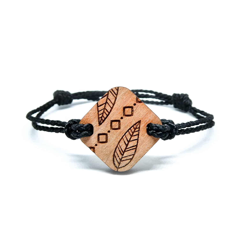 bracelet en bois poca 1