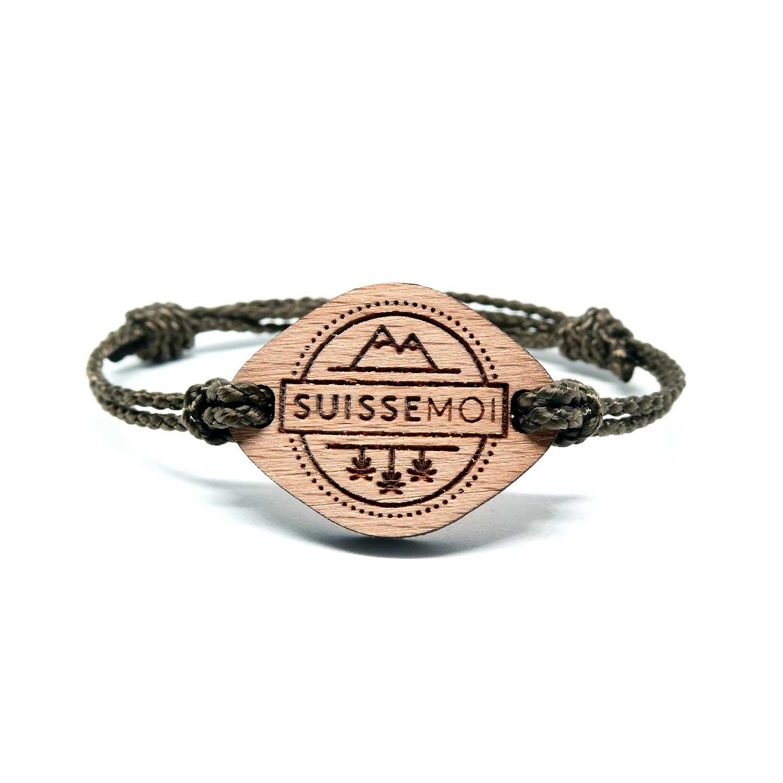 bracelet en bois suisse moi