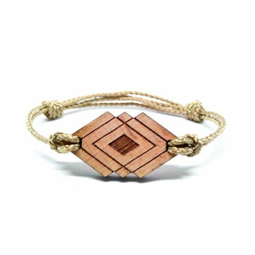 Bracelet en bois syma